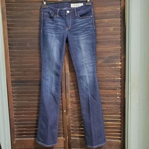 Treasure & Bond Mini Boot Cut Jeans Dark Wash28×32